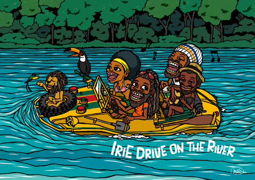 Irie Drive On The River