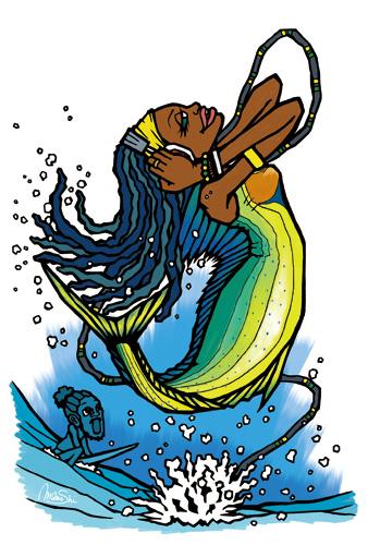 Mermaid Of Caribbean