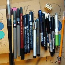 ペン入れはアナログ時代